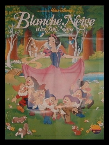 Affiche du film BLANCHE-NEIGE ET LES SEPT NAINS - SNOW WHITE AND THE SEVEN DWARFS