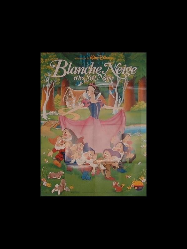 Affiche du film BLANCHE-NEIGE ET LES SEPT NAINS - SNOW WHITE AND THE SEVEN DWARFS