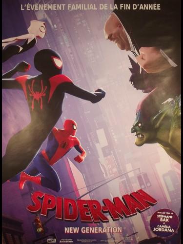 Affiche du film SPIDERMAN NEW GENERATION