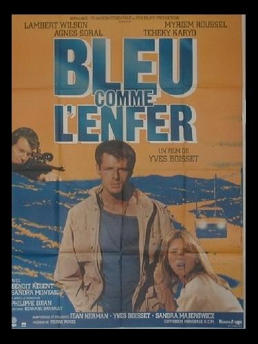 Affiche du film BLEU COMME L'ENFER