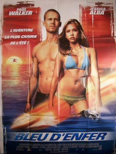 Affiche du film BLEU D'ENFER - INTO THE BLUE