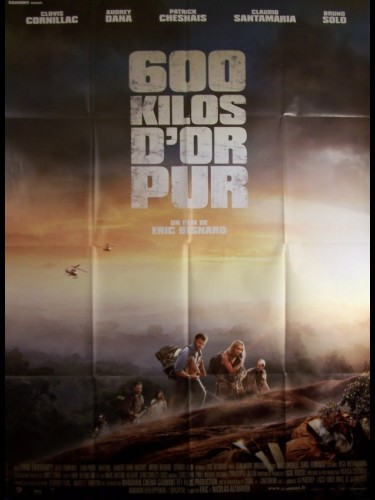 Affiche du film 600 KILOS D'OR PUR