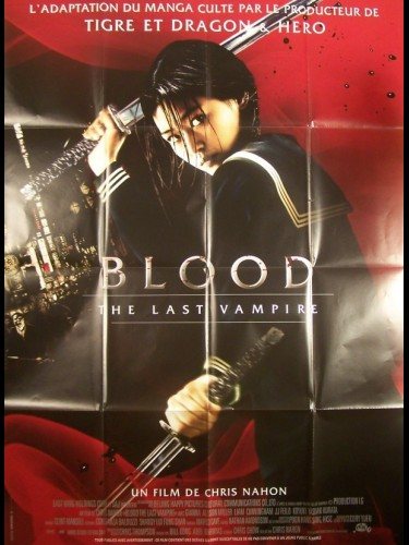 Affiche du film BLOOD - THE LAST VAMPIRE
