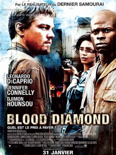 Affiche du film BLOOD DIAMOND - BLOOD DIAMOND