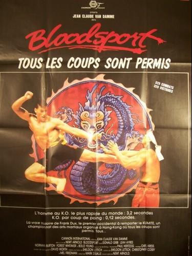 Affiche du film BLOODSPORT
