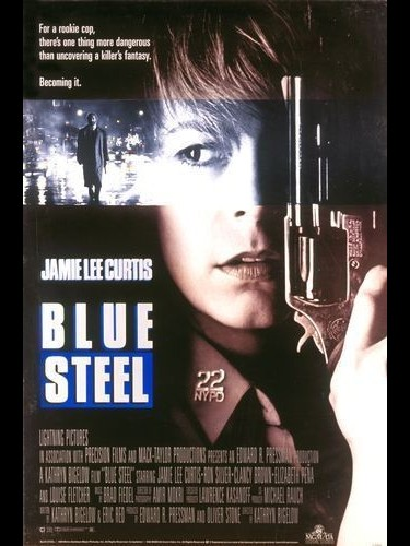Affiche du film BLUE STEEL