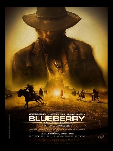 Affiche du film BLUEBERRY L'EXPERIENCE SECRETE