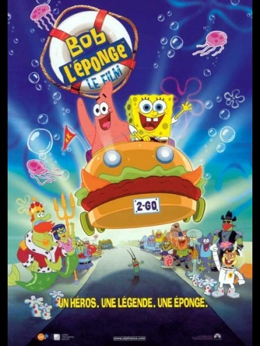 Affiche du film BOB L'EPONGE - SPONGEBOB SQUAREPANTS MOVIE (THE)