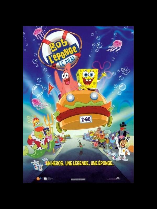 Affiche du film BOB L'EPONGE - SPONGEBOB SQUAREPANTS MOVIE (THE)