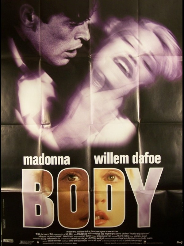Affiche du film BODY - BODY OF EVIDENCE