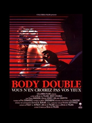 Affiche du film BODY DOUBLE