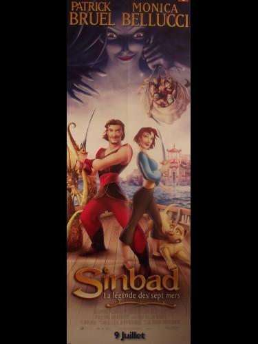 Affiche du film SINBAD - LA LEGENDE DES SEPT MERS