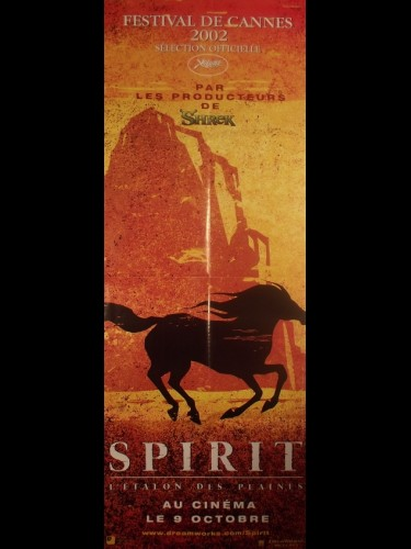 Affiche du film SPIRIT L'ETALON DES PLAINES - Titre original : SPIRIT STALLION OF THE CIMARRON