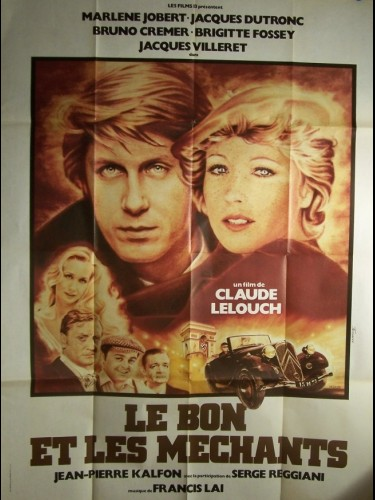Affiche du film BON ET LES MECHANTS (LE)