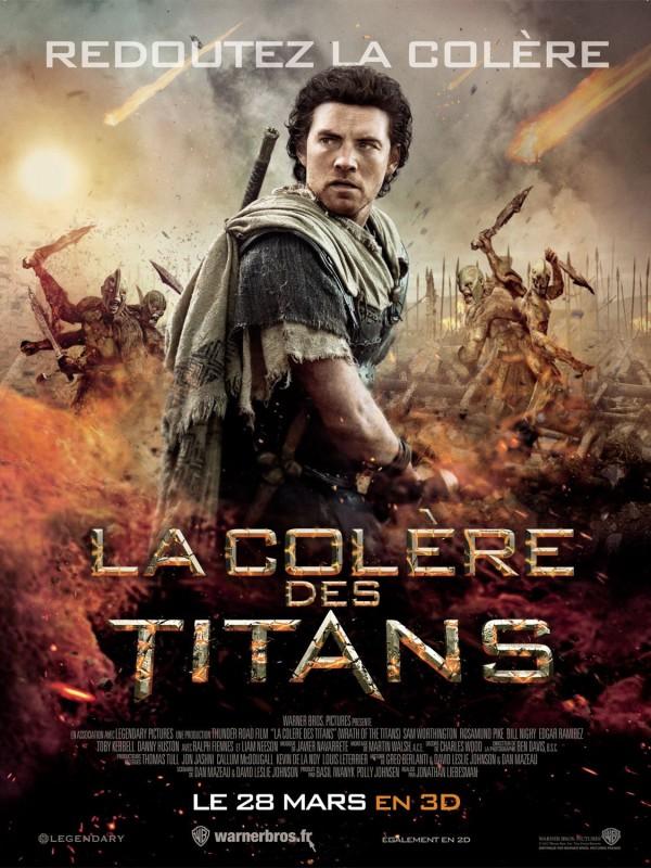 Affiche du film LA COLERE DES TITANS - Titre original : WRATH OF THE TITANS