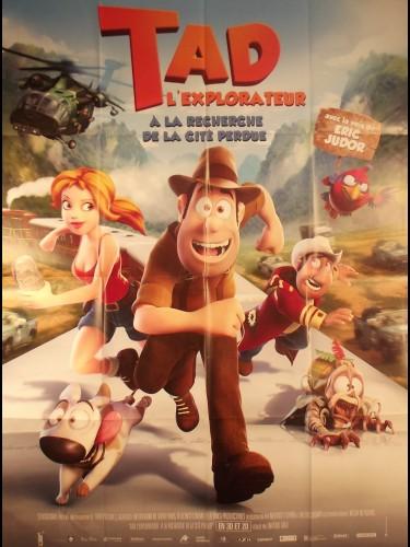 Affiche du film TAD - L'EXPLORATEUR - Titre original : LAS AVENTURAS DE TADEO JONES