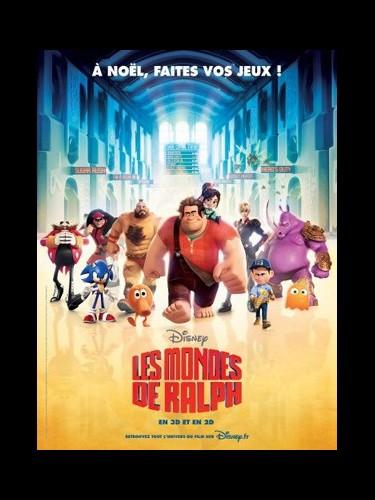 Affiche du film LES MONDES DE RALPH- Titre original: WRECK-IT RALPH