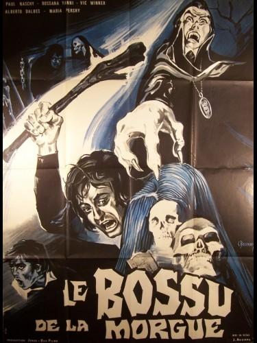 Affiche du film BOSSU DE LA MORGUE (LE) - EL JOROBADO DE LA MORGUE