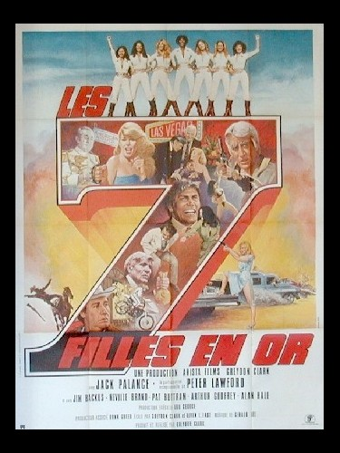Affiche du film 7 FILLES EN OR (LES)
