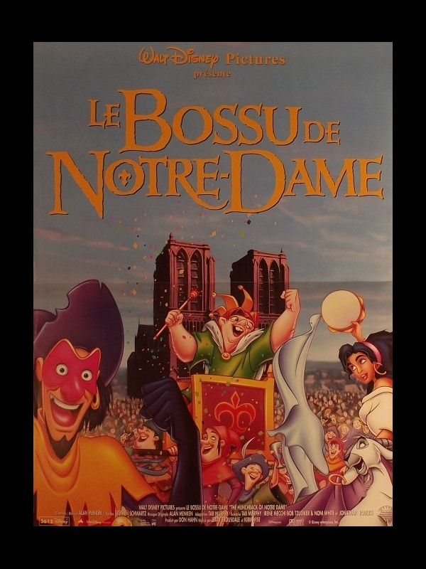 Affiche du film BOSSU DE NOTRE DAME (LE)
