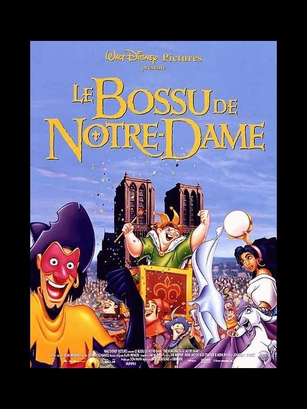 Affiche du film BOSSU DE NOTRE-DAME (LE) - THE HUNCHBACK OF NOTRE DAME