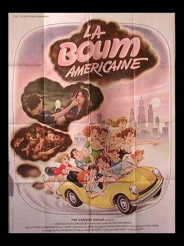Affiche du film BOUM AMERICAINE (LA) - GOING STEADY