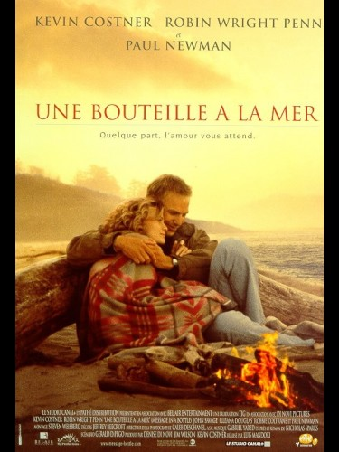 Affiche du film BOUTEILLE A LA MER (UNE) - MESSAGE IN THE BOTTLE