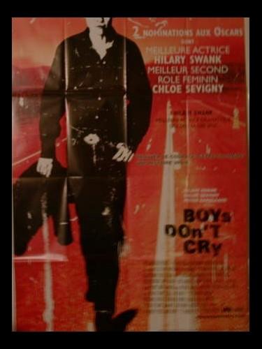Affiche du film BOYS DON'T CRY - LES GARÇONS NE PLEURENT PAS