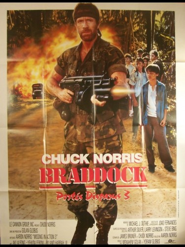 Affiche du film BRADDOCK -PORTÉS DISPARUS 3- - BRADDOCK: MISSING IN ACTION III