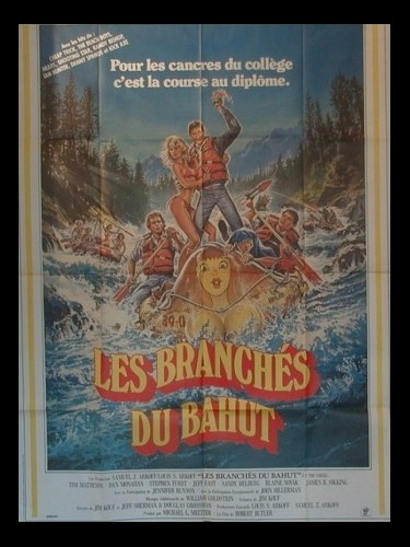 Affiche du film BRANCHES DU BAHUT (LES) - UP THE CREEK