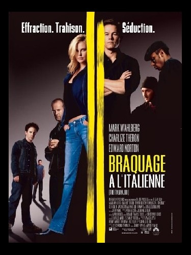 Affiche du film BRAQUAGE A L'ITALIENNE - ITALIAN JOB (THE)