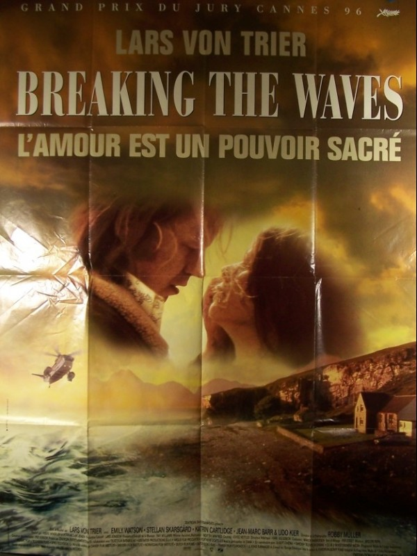 Affiche du film BREAKING THE WAVES