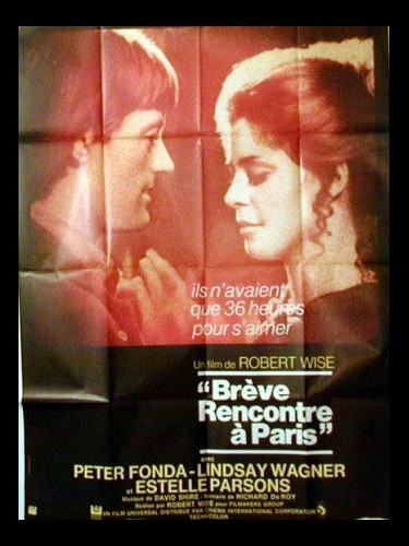 Affiche du film BREVES RENCONTRES A PARIS - TWO PEOPLE