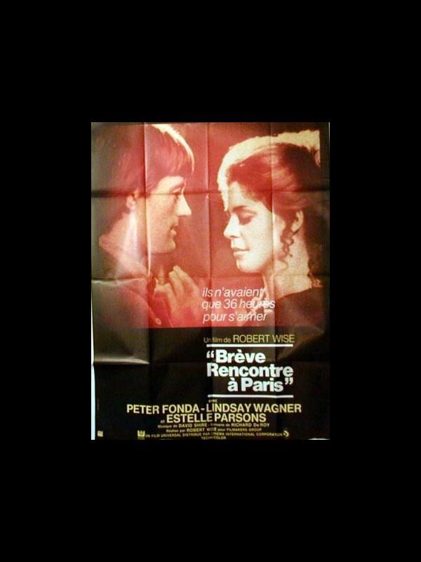 Affiche du film BREVES RENCONTRES A PARIS - TWO PEOPLE