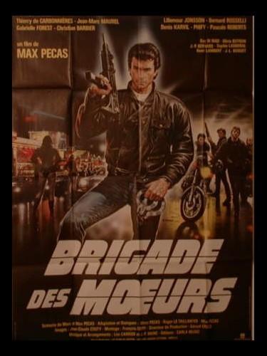 Affiche du film BRIGADE DES MŒURS