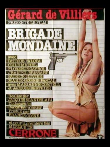 Affiche du film BRIGADE MONDAINES