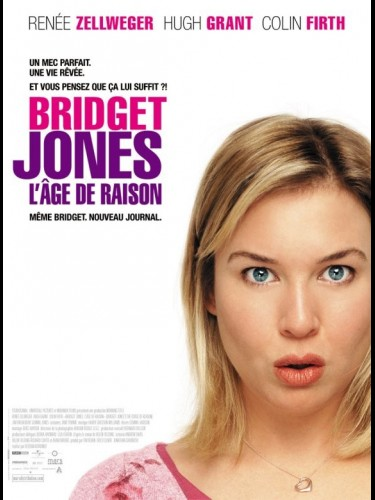 Affiche du film BRIGET JONES 2 : L'ÂGE DE RAISON - BRIDGET JONES : THE EDGE OF REASON