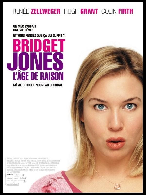 Affiche du film BRIGET JONES 2 : L'ÂGE DE RAISON - BRIDGET JONES : THE EDGE OF REASON