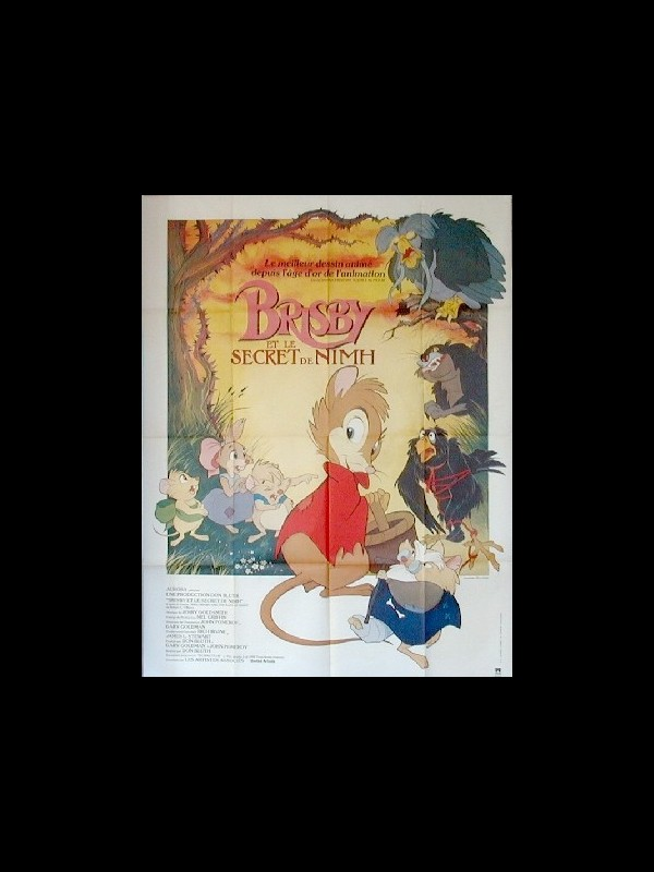 Affiche du film BRISBY ET LE SECRET DE NIMH - THE SECRET OF NIMH