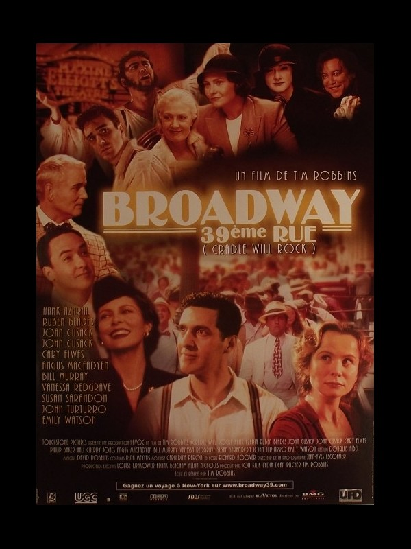 Affiche du film BROADWAY 39EME RUE
