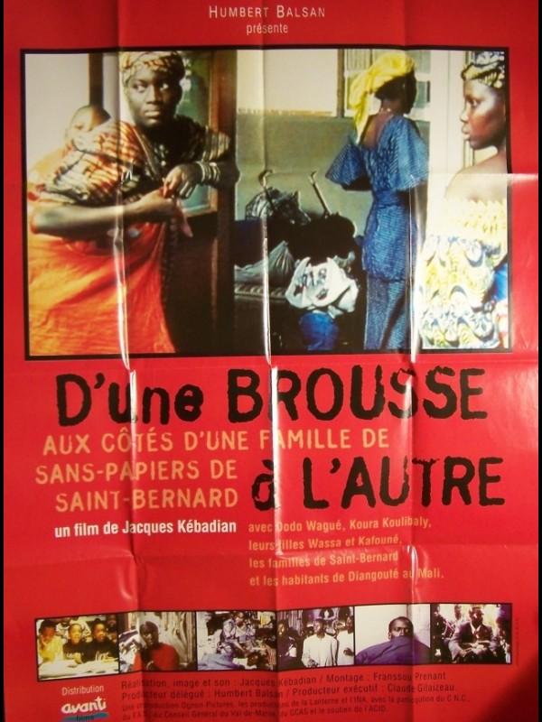 Affiche du film BROUSSE A L'AUTRE (D'UNE)