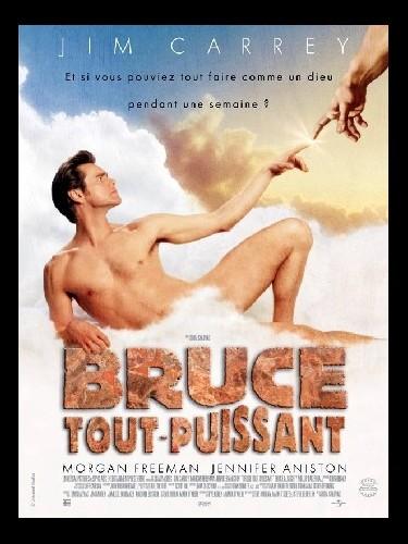 Affiche du film BRUCE TOUT PUISSANT - BRUCE ALMIGHTY