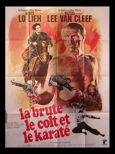 Affiche du film BRUTE LE COLT ET LE KARATE (LA) - EL KÁRATE, EL COLT Y EL IMPOSTOR