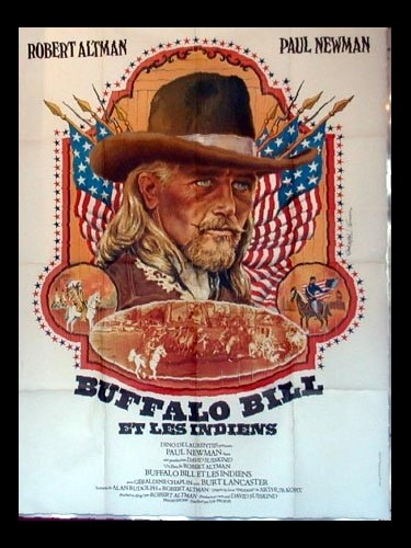 Affiche du film BUFFALO BILL ET LES INDIENS - BUFFALO BILL AND THE INDIANS OU SITTING BULL'S HISTORY LESSON