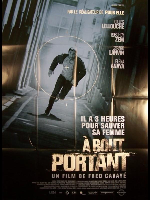 Affiche du film A BOUT PORTANT