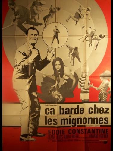 Affiche du film CA BARDE CHEZ LES MIGNONNES - RESIDENCIA PARA ESPIAS