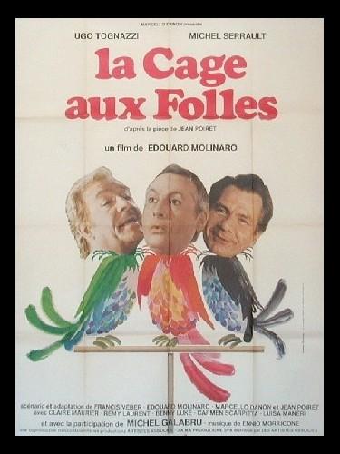 Affiche du film CAGE AUX FOLLES (LA)