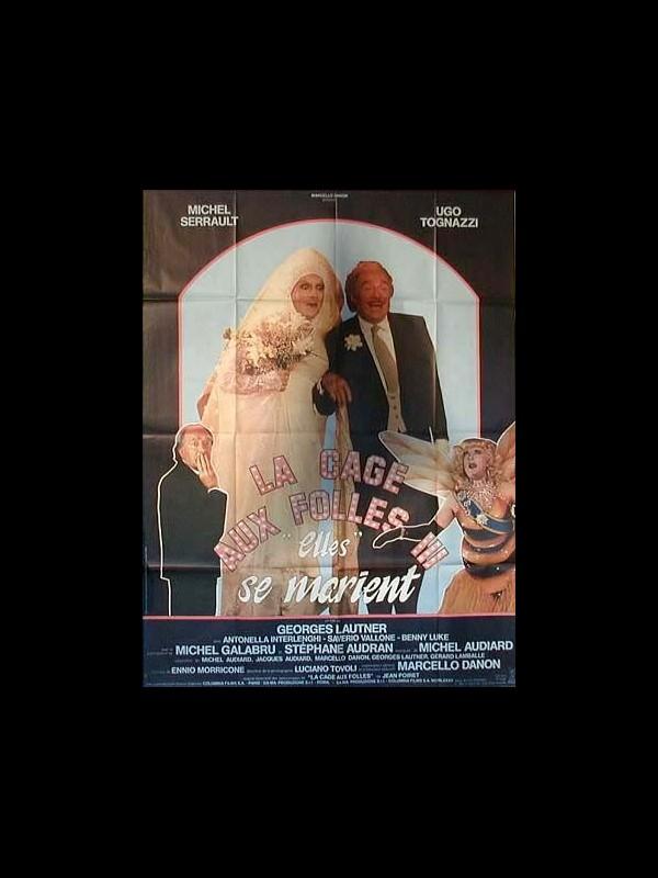 Affiche du film CAGE AUX FOLLES 3 (LA)