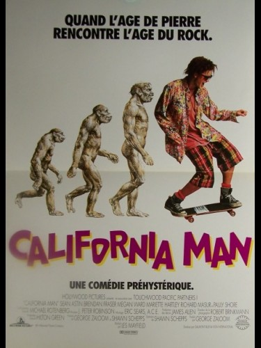 Affiche du film CALIFORNIA MAN
