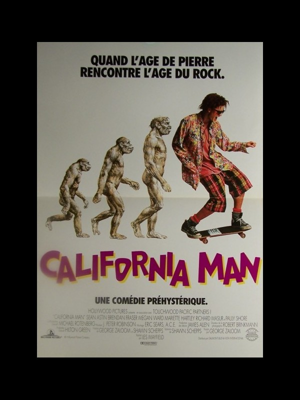 Affiche du film CALIFORNIA MAN